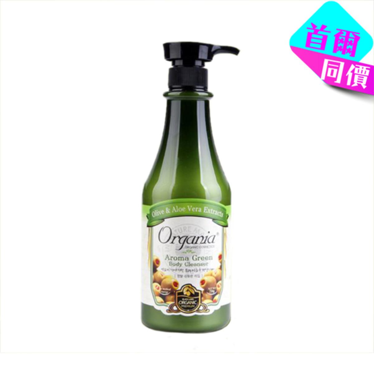 綠色香氣沐浴乳 750克
