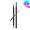 雙頭紋身液體眉筆 (1號 自然啡色)