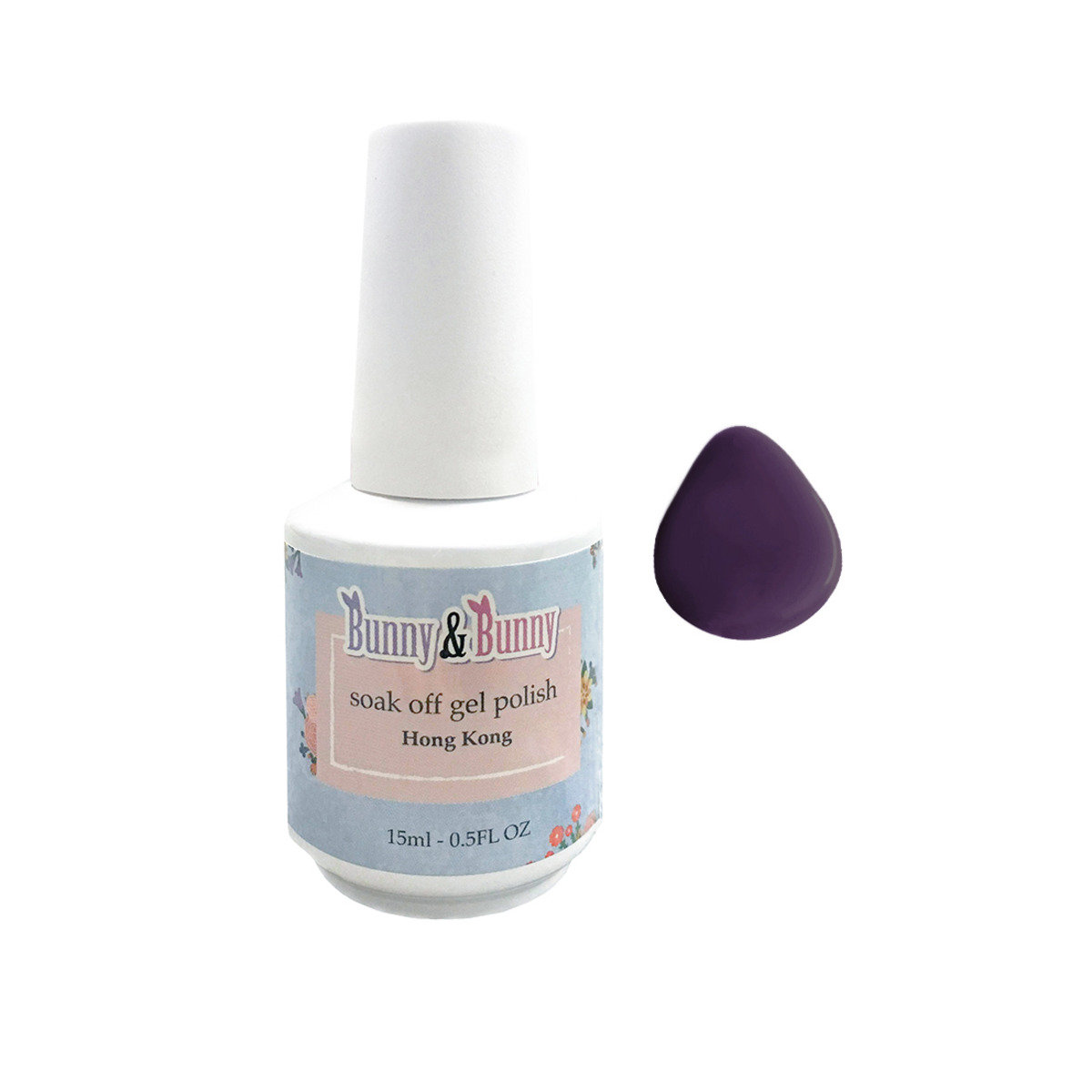 Bunny Nail Lacquer - Plumy Bunny