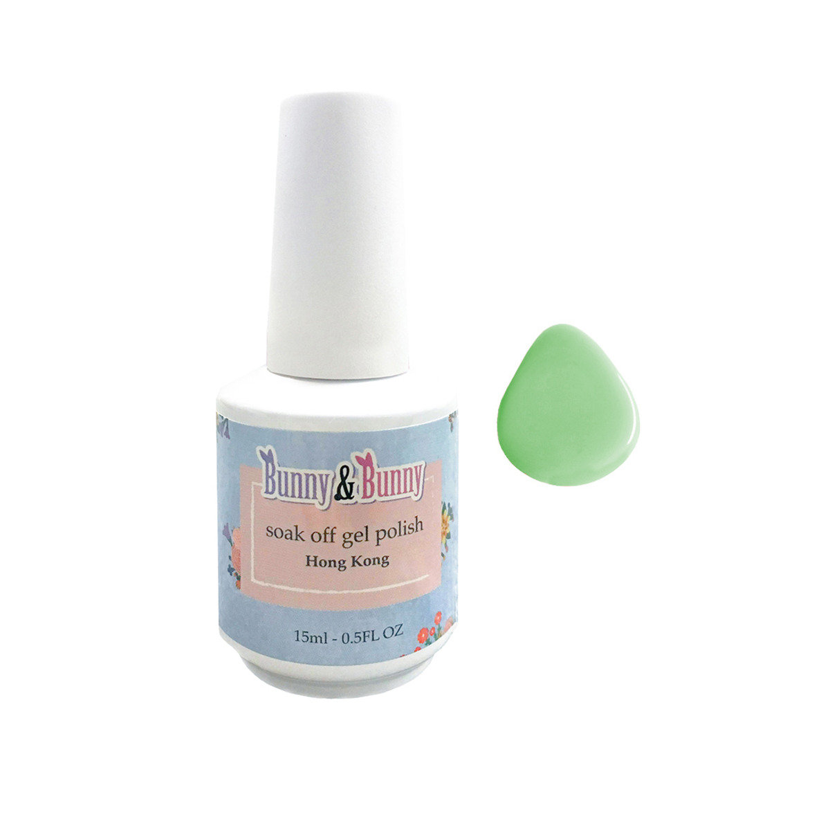 Bunny Nail Lacquer - Mint Candy