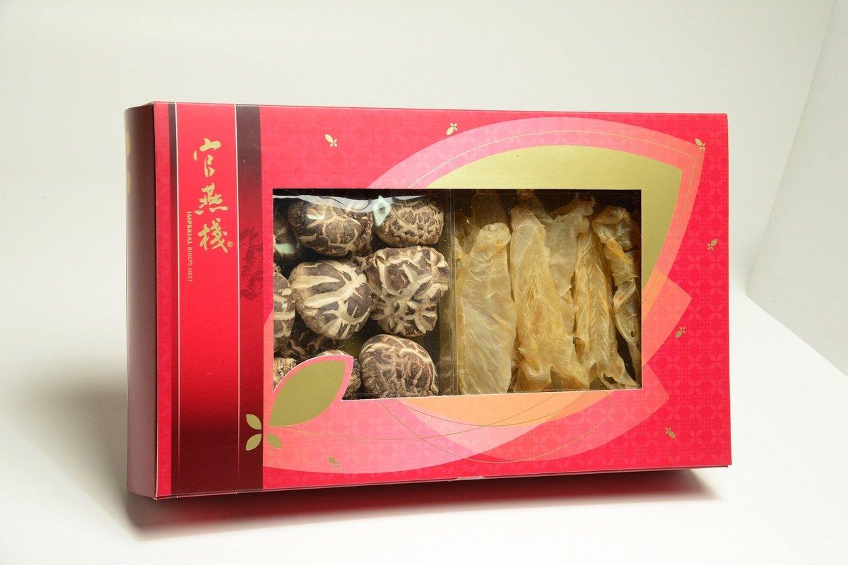 養生薈吉祥禮盒(花膠+花菇)