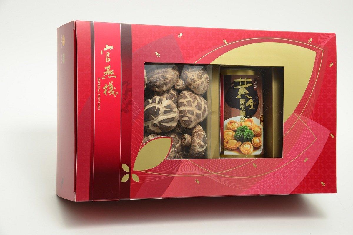 官燕棧養生薈鮑魚花菇禮盒(澳洲野生鮑魚)