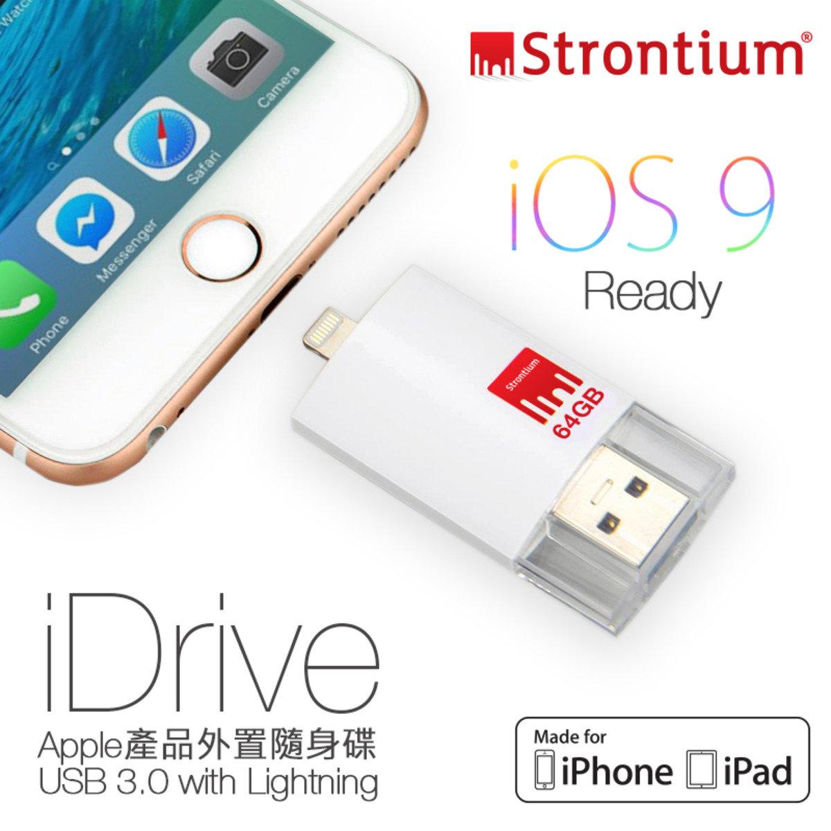 NITRO iDrive OTG 64G 85MB/s USB 3.0 高速雙用隨身碟 (iPhone & iPad專用)