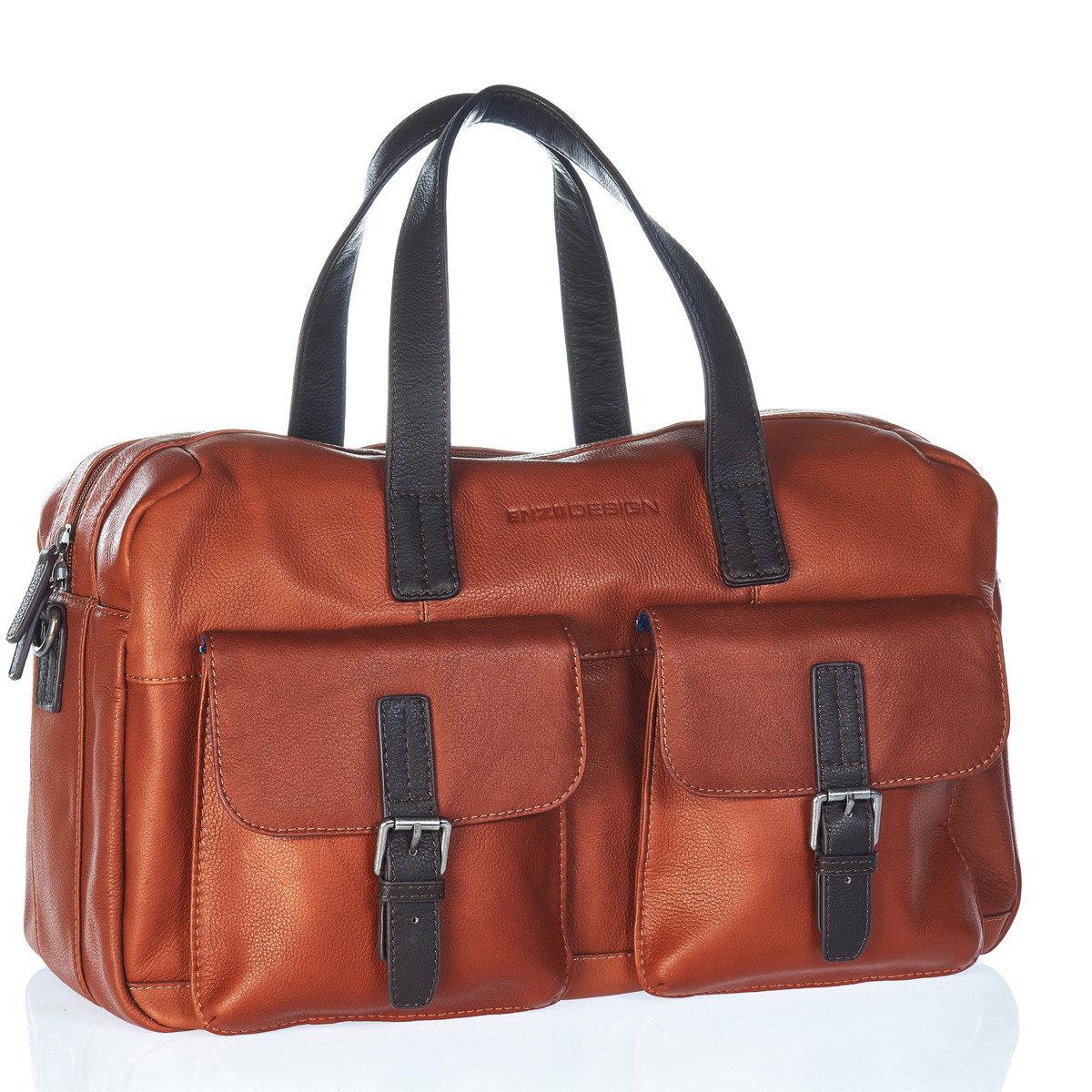 全皮手挽袋Small Leather GYM BAG(可上膊)