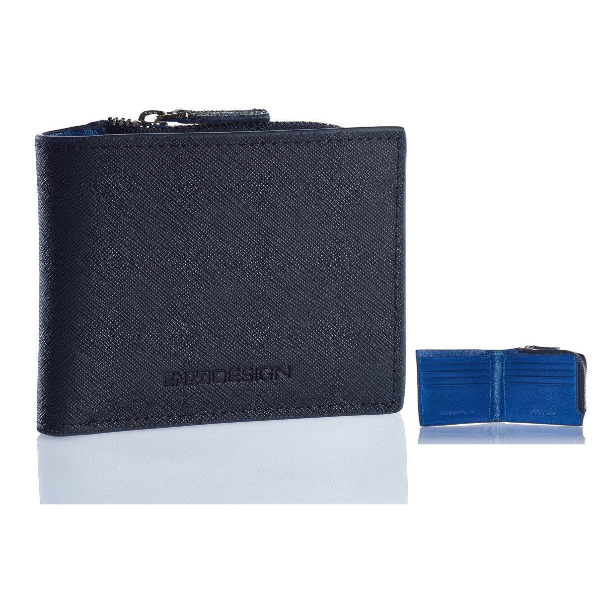 新設計Saffiano Leather/Soccer Boot Leather 銀包