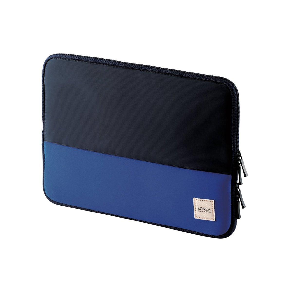 薄型收納袋(深藍色)