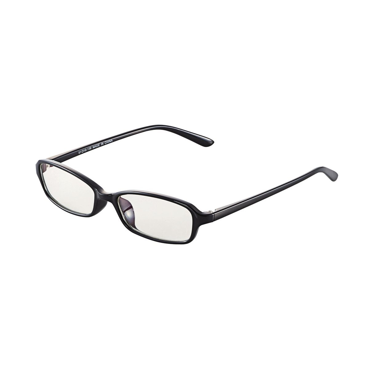方框防藍光眼鏡(黑色)