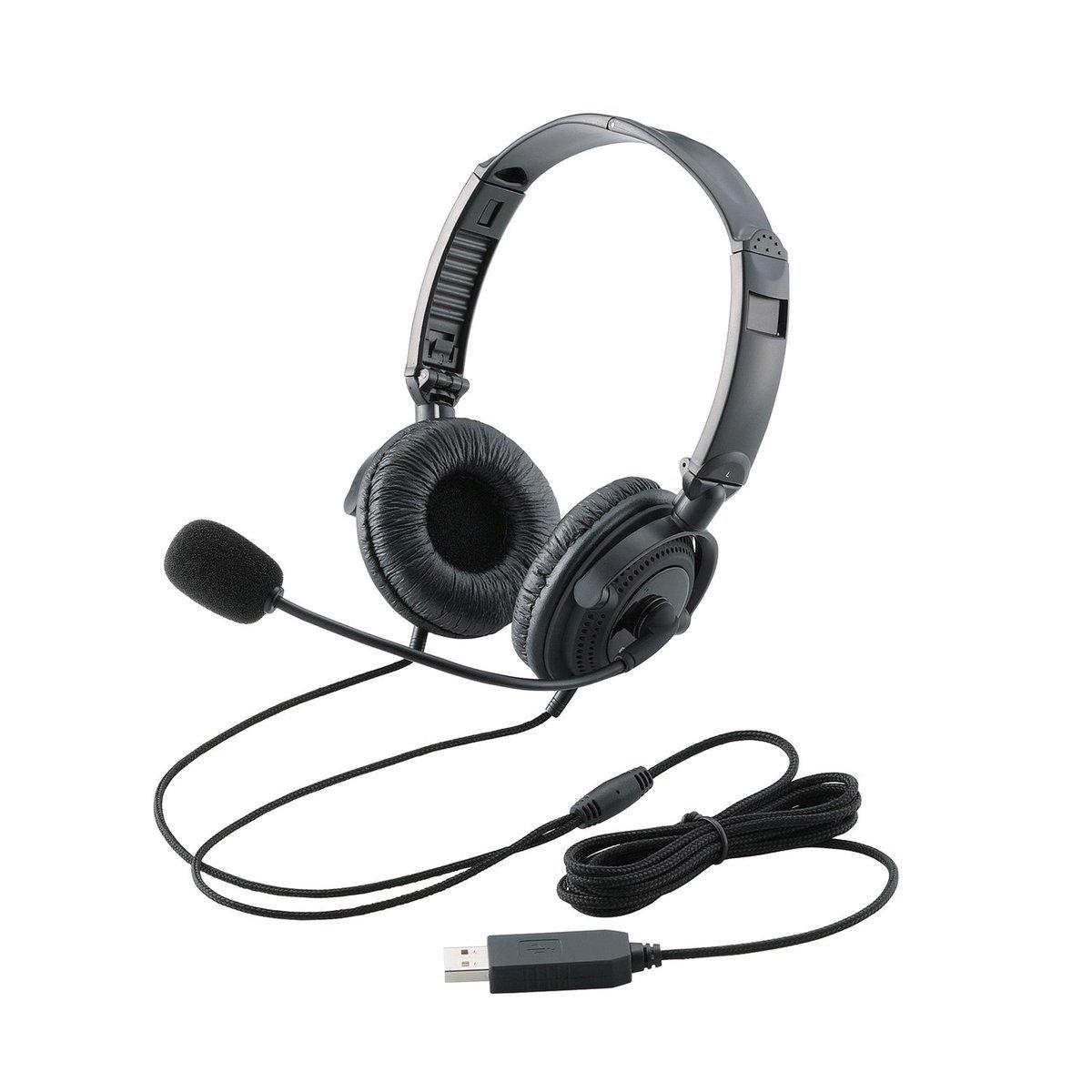 電腦用頭戴式耳機連麥克風