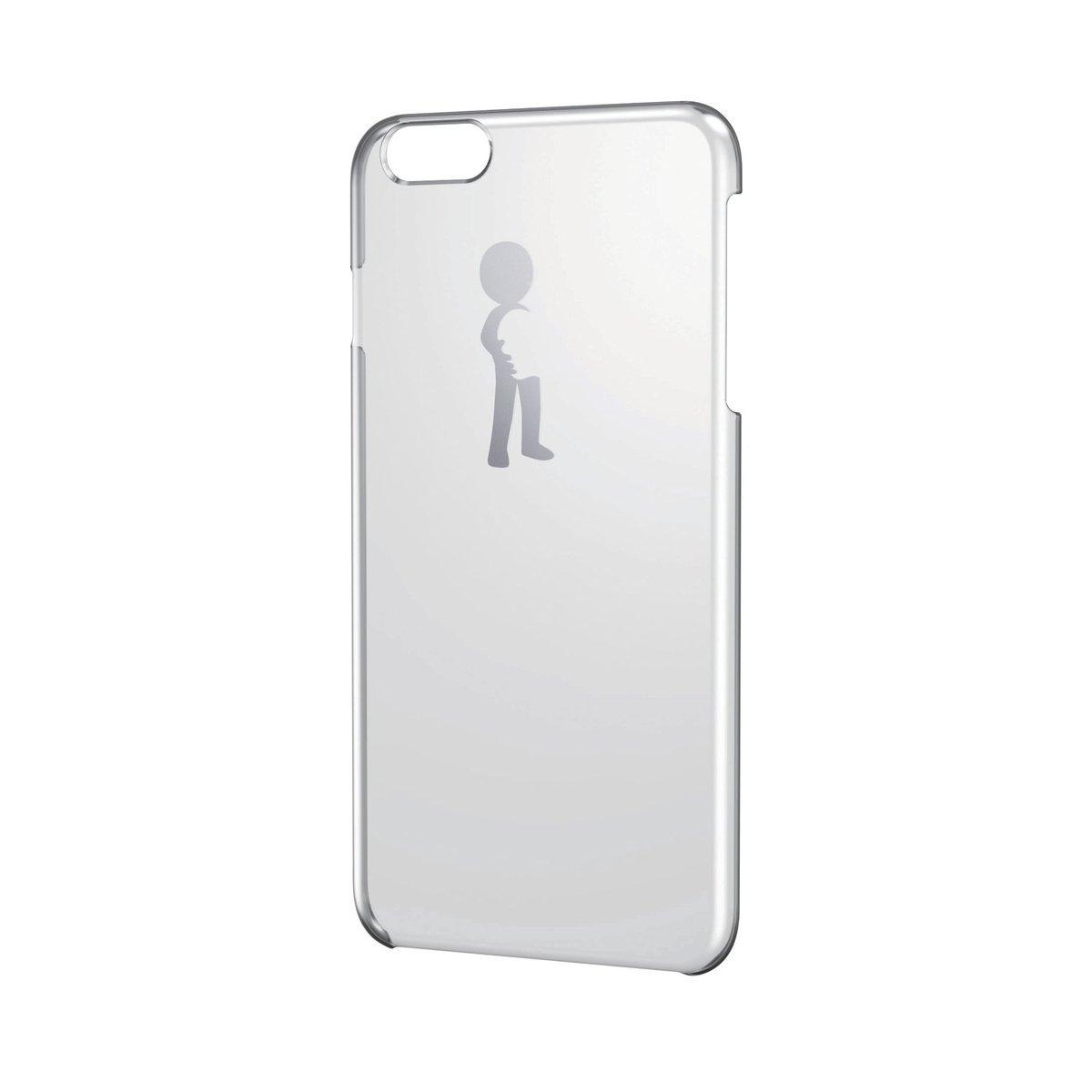 iPhone 6/6S Plus銀色圖案硬殼(擁抱)