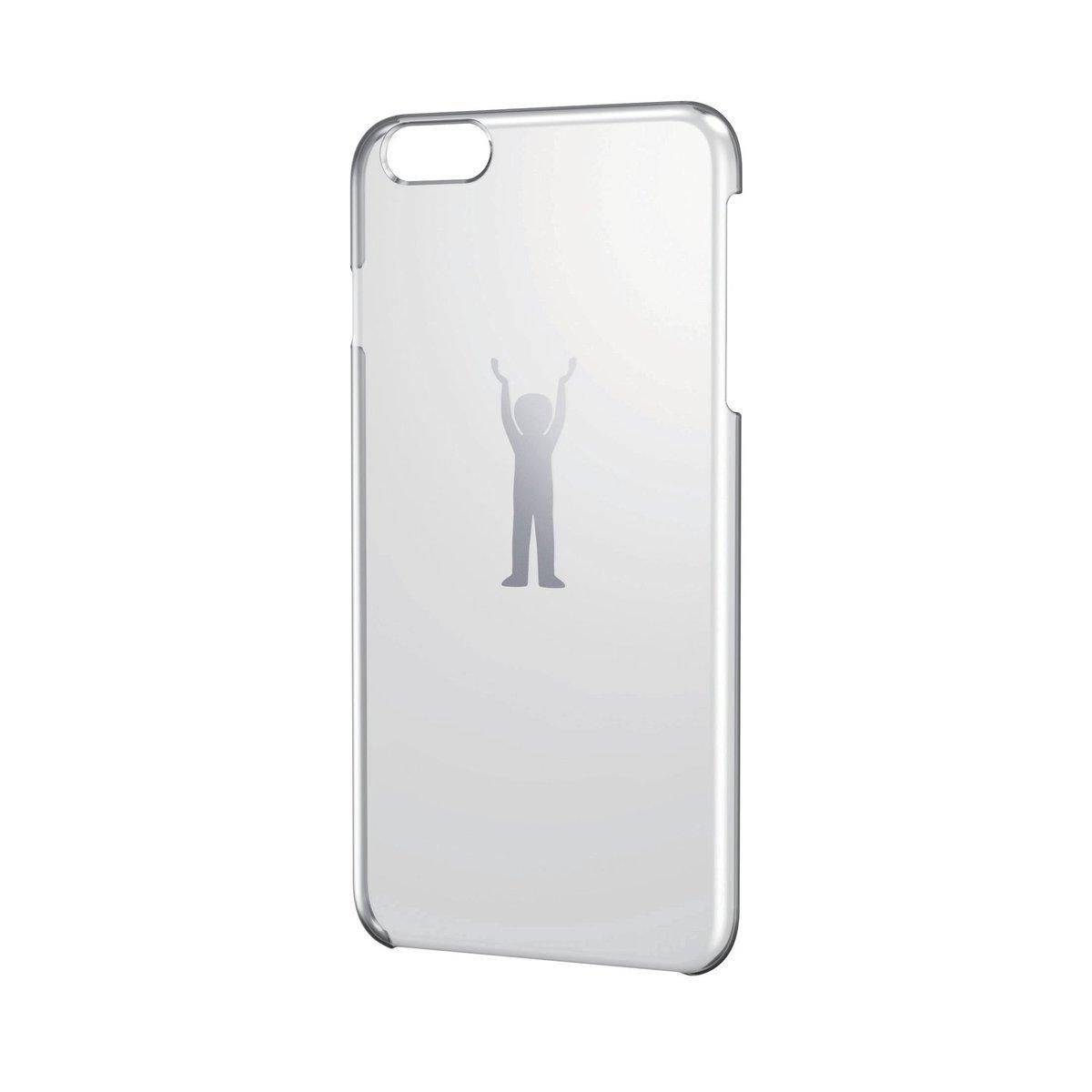 iPhone 6/6s Plus銀色圖案硬殼(力量)