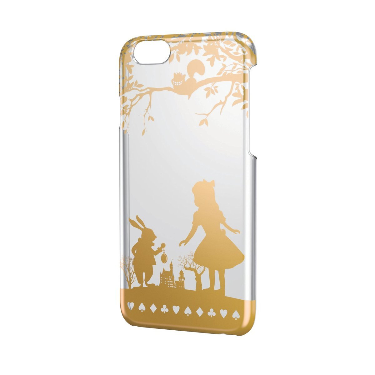 iPhone 6/6S 金色圖案硬殼(愛麗斯)