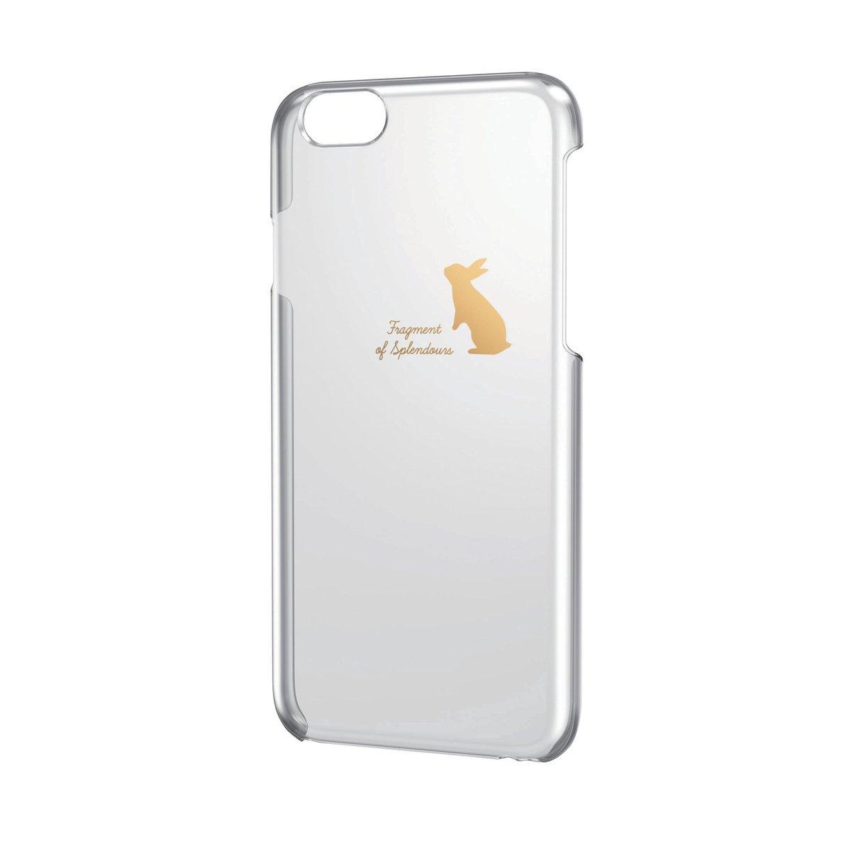 iPhone 6/6S 金色圖案硬殼(兔仔)