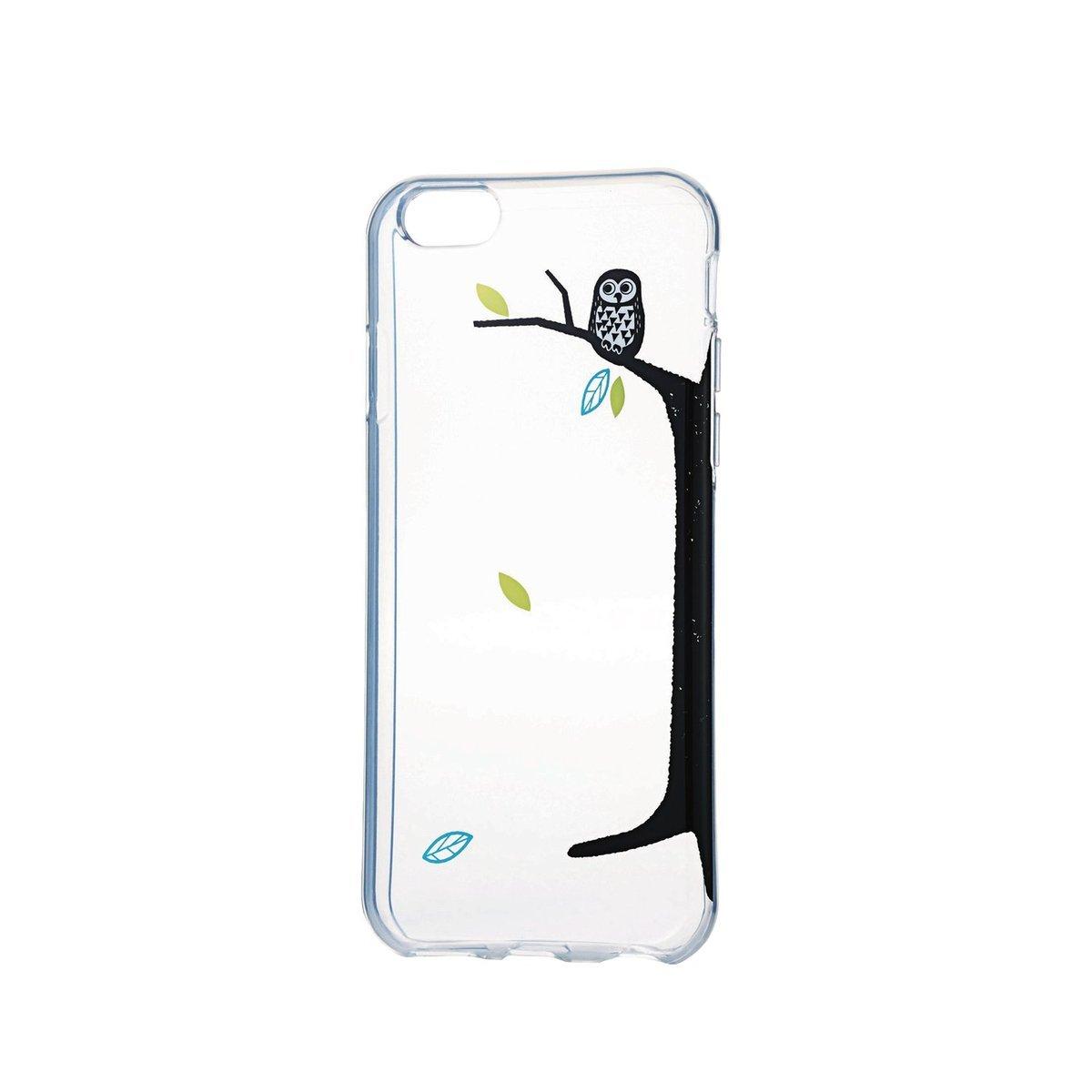 iPhone 6/6S 少女風軟殼(貓頭鷹)