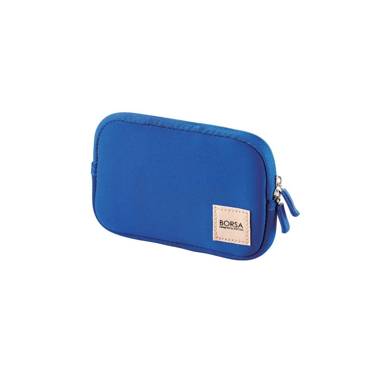 柔軟收納袋(藍色)