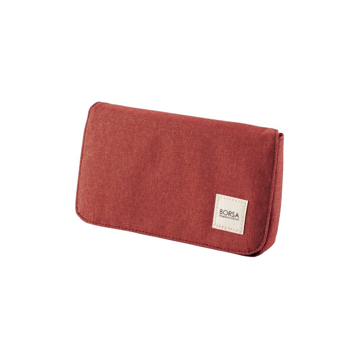 揭蓋式收納袋(紅色)