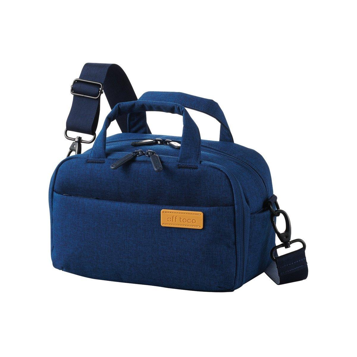 帆布防水小背包(藍色)
