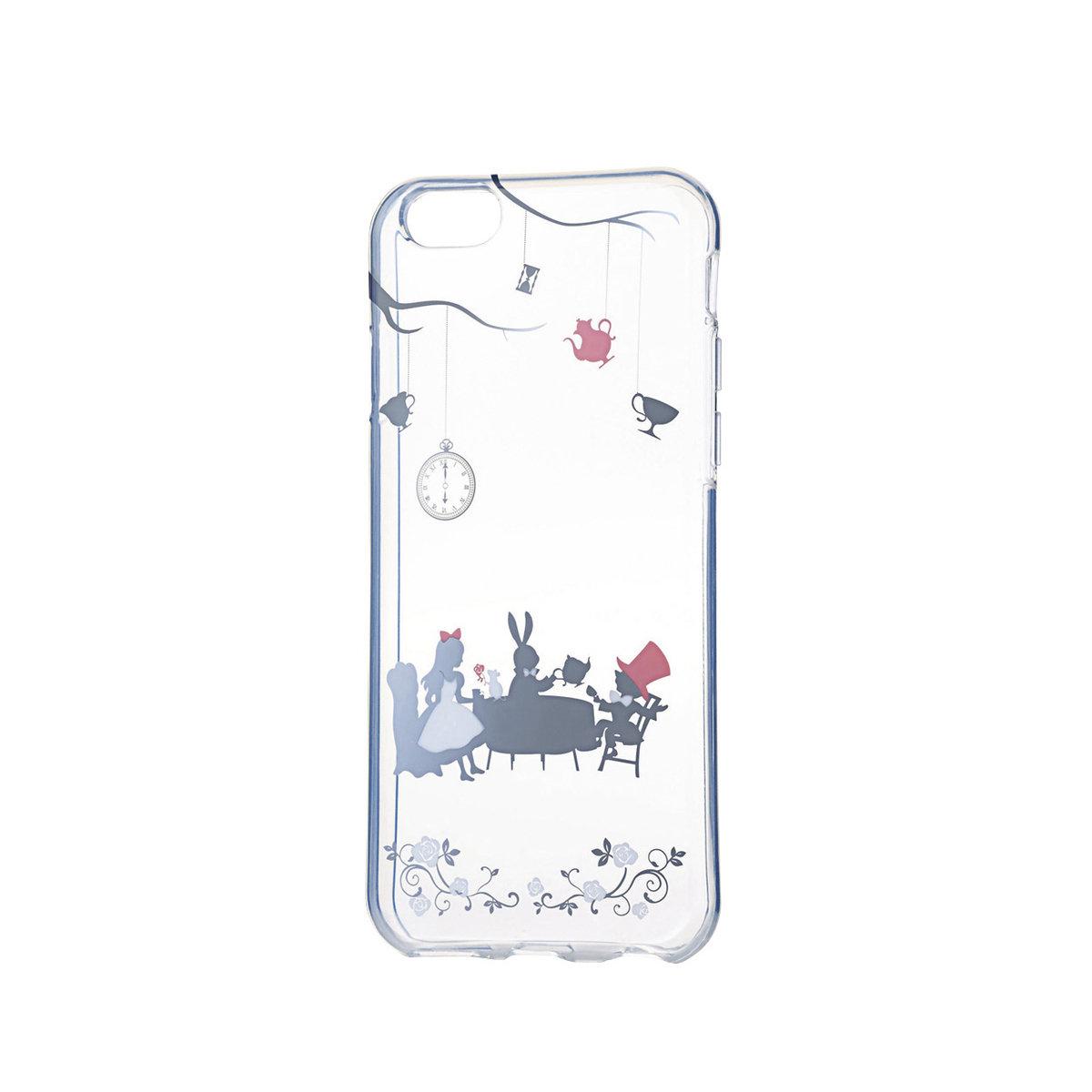 iPhone6/6S 少女風軟殼(銀色愛麗斯)