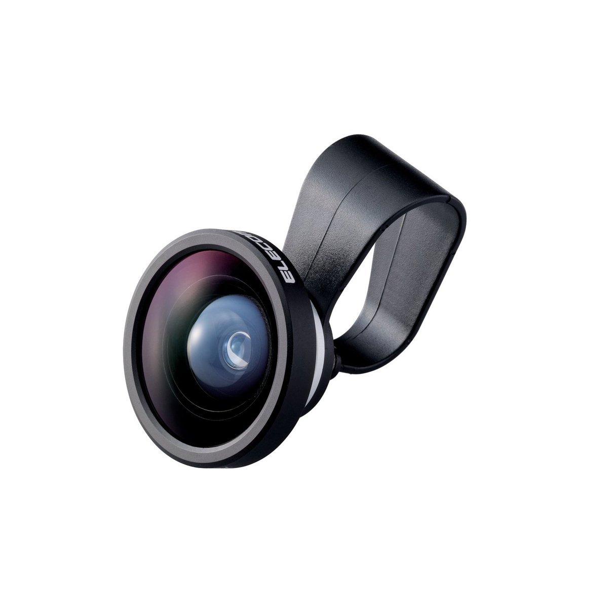 攜帶型0.4X 超廣角手機鏡頭 (銀色)