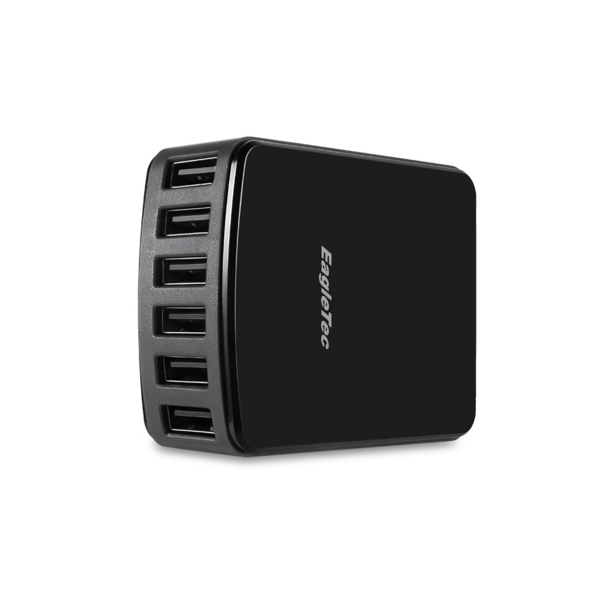 50W 6端口USB智能顯示屏充電器