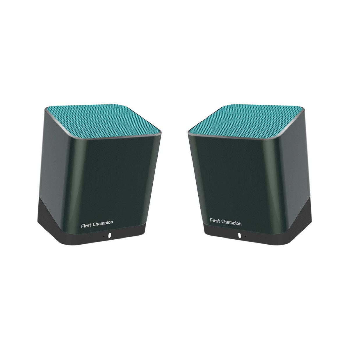雙用藍牙立體聲小喇叭 - DUO880 (藍色)