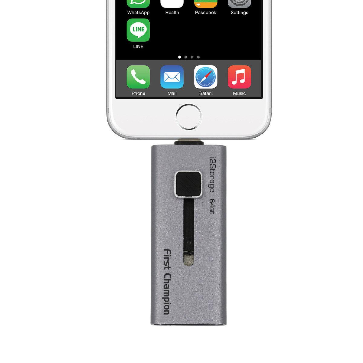 蘋果專用Lightning USB 3.0 隨身碟 i2S30-64GB