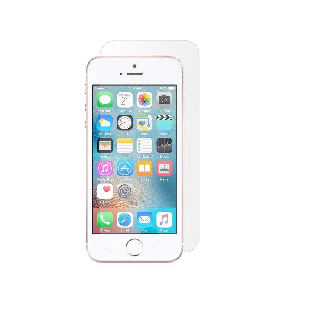 iPhone SE/5/5S/5C 9H 0.33毫米強化玻璃屏幕保護貼, 日本進口材料。