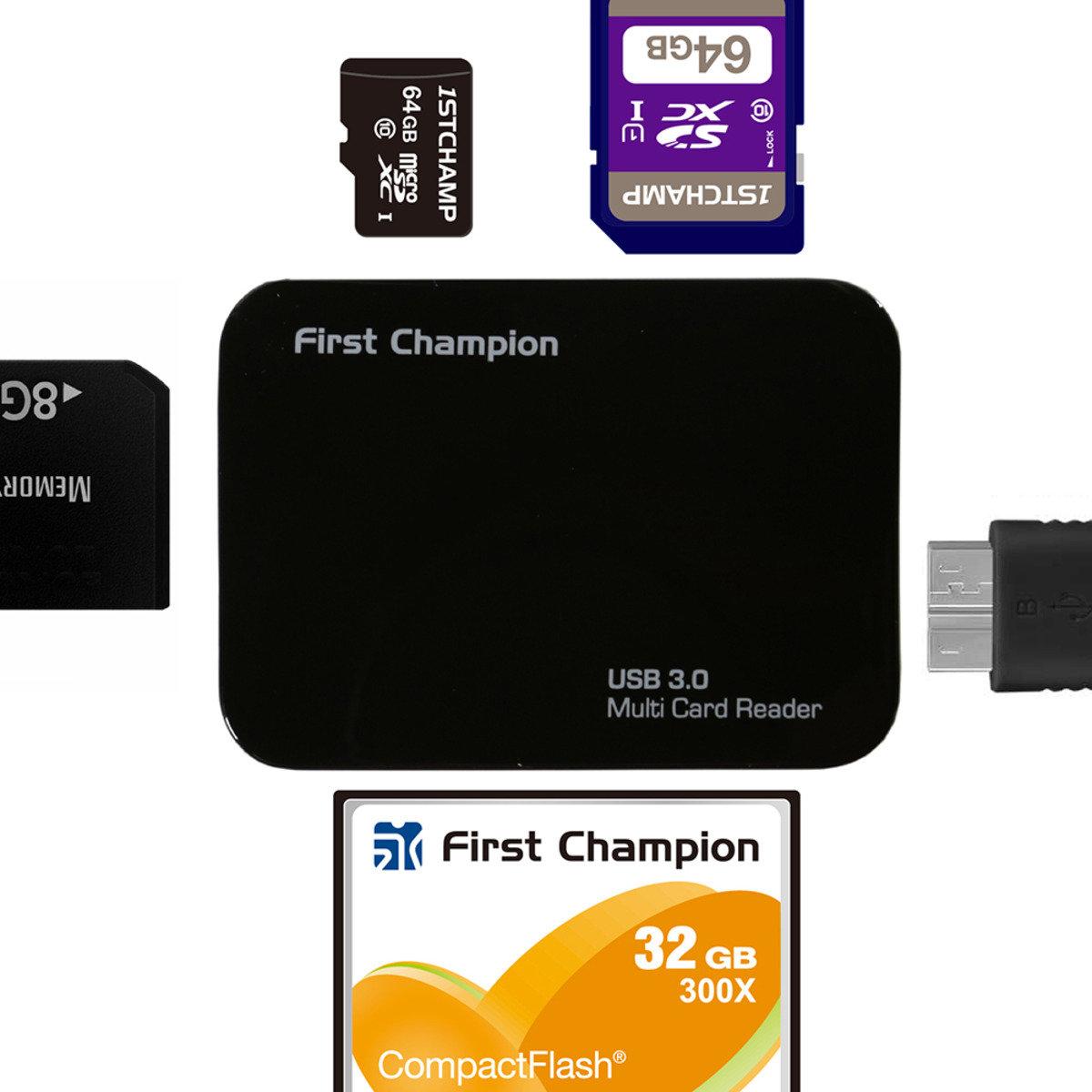 USB3.0 多合一讀卡器 FC-CR630
