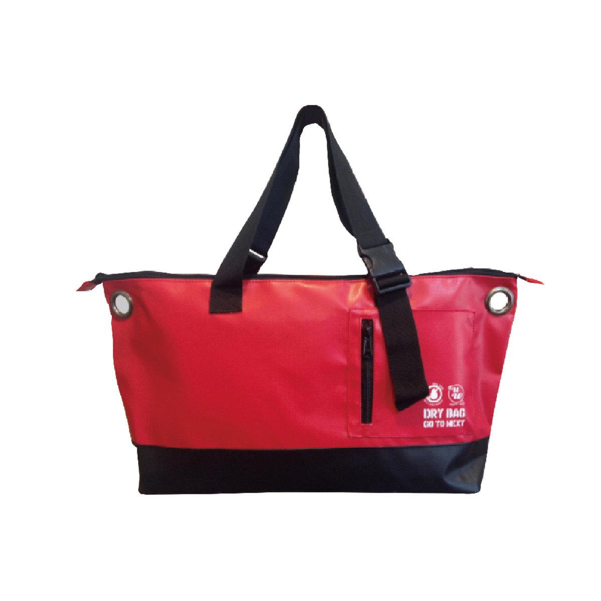 側揹兩用袋 - 紅色