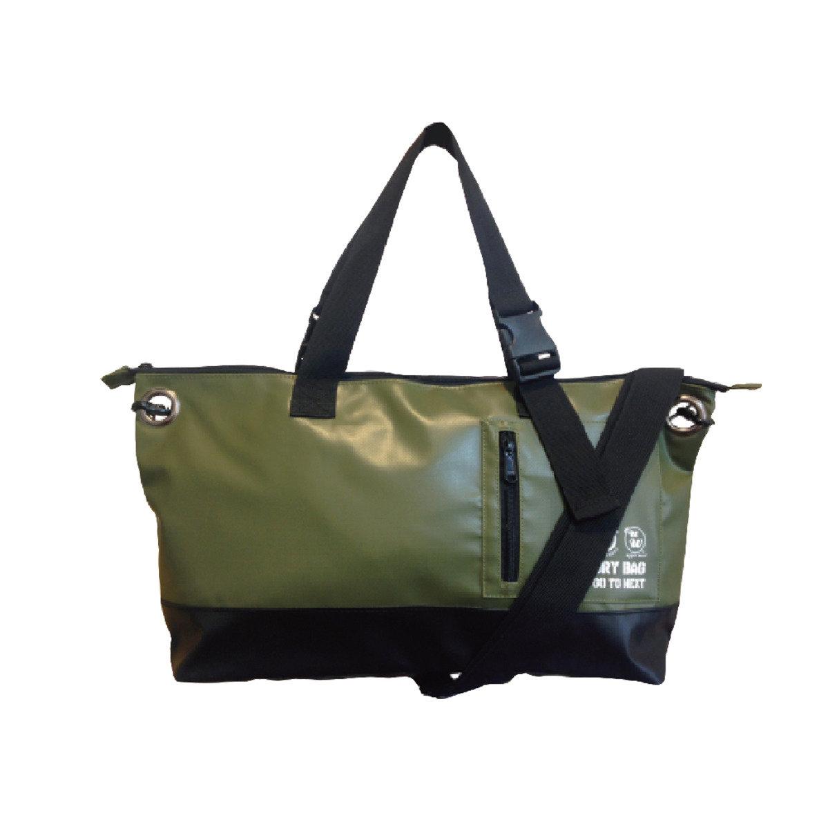 側揹兩用袋 - 綠色