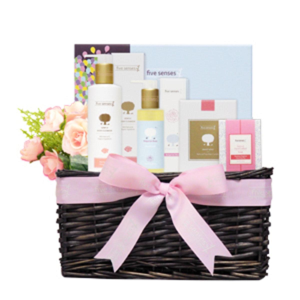 溫馨滋潤母親節禮物籃