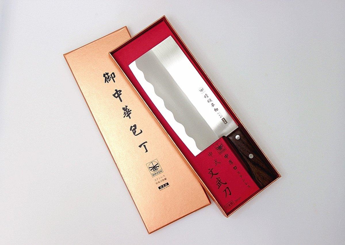 日本蜻蜓牌中式文武菜刀(3mm)