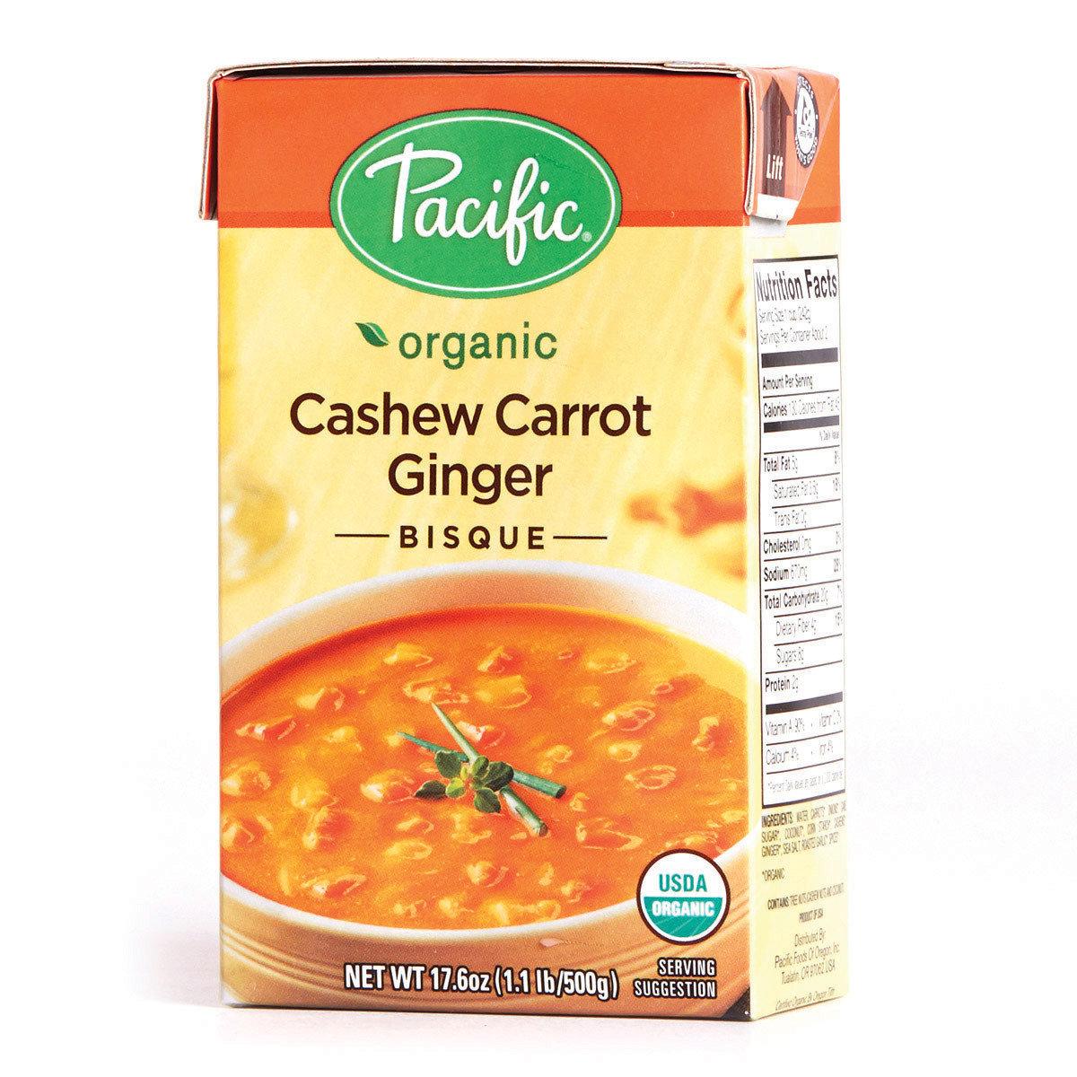 有機法式腰果紅蘿蔔薑濃湯