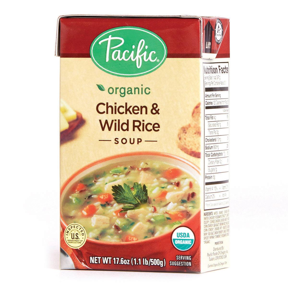有機雞肉野米及糙米湯
