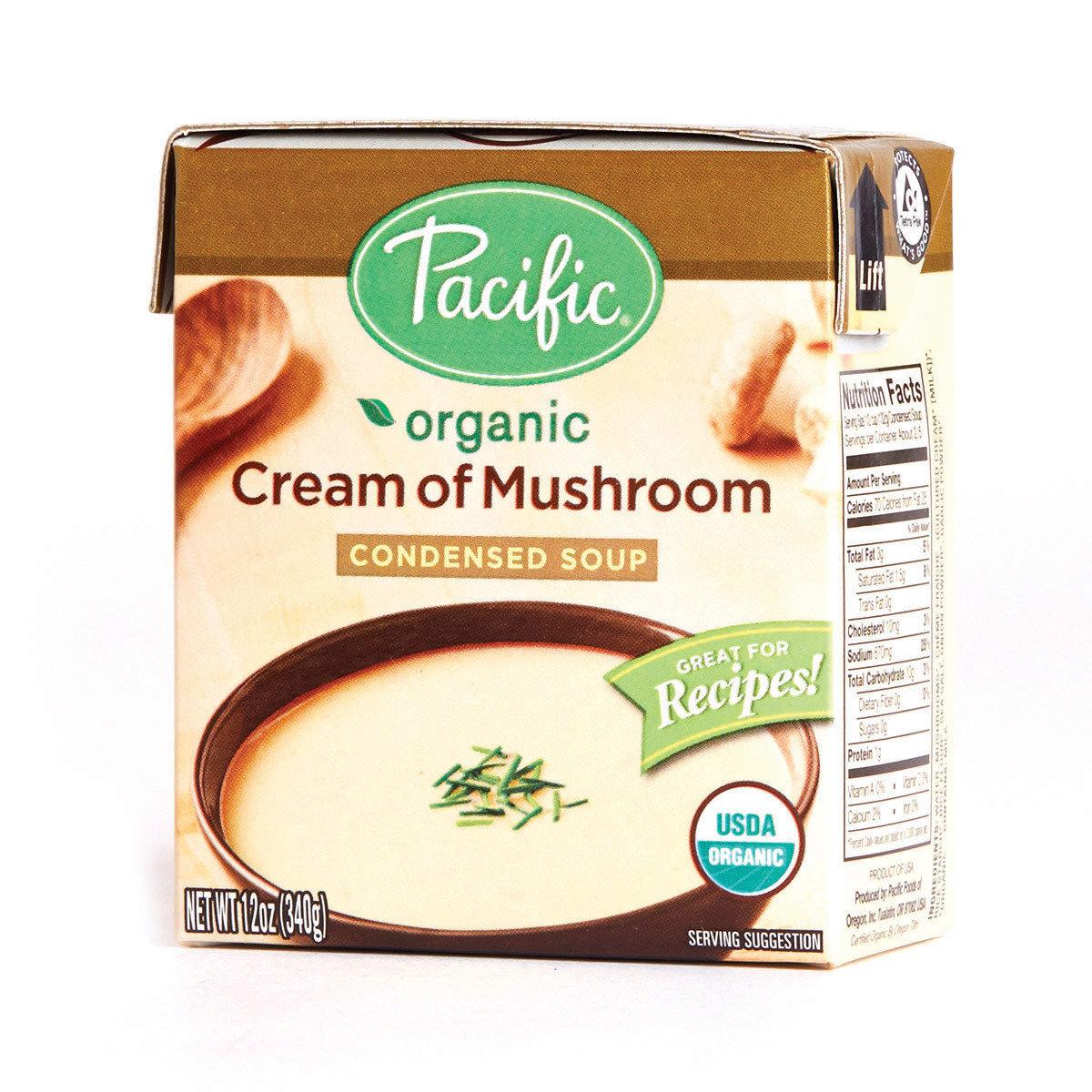 有機忌廉蘑菇湯