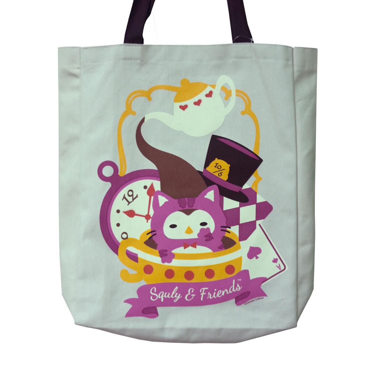 Owlly 帆布手提袋(愛麗絲夢遊仙境)