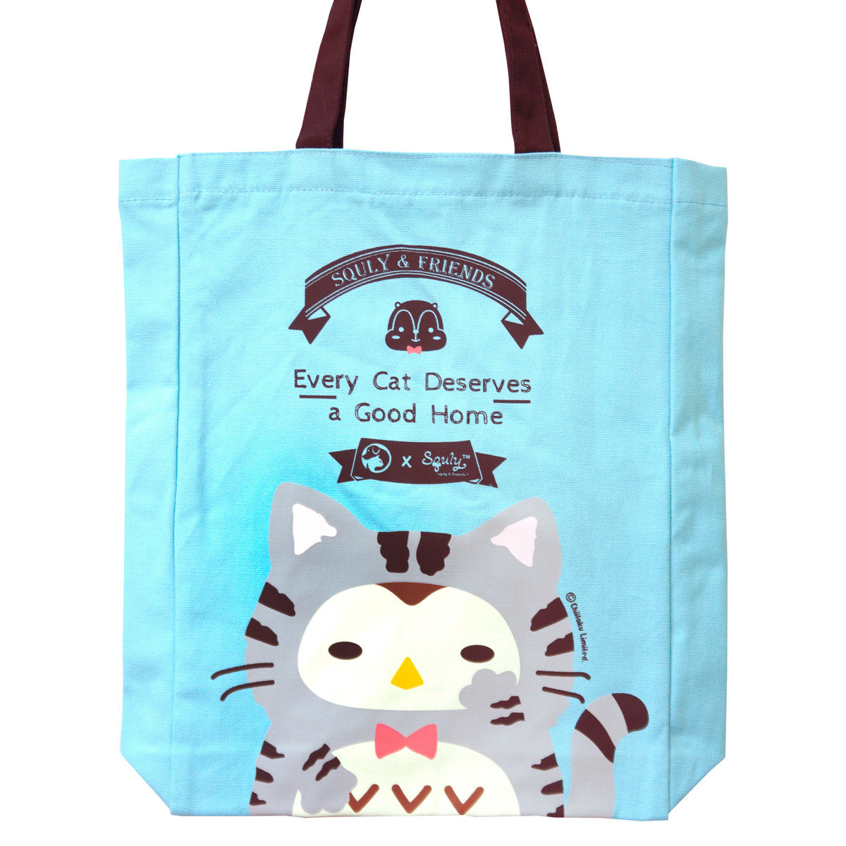 Owlly 帆布手提袋(愛護動物協會特別版 - 貓仔)