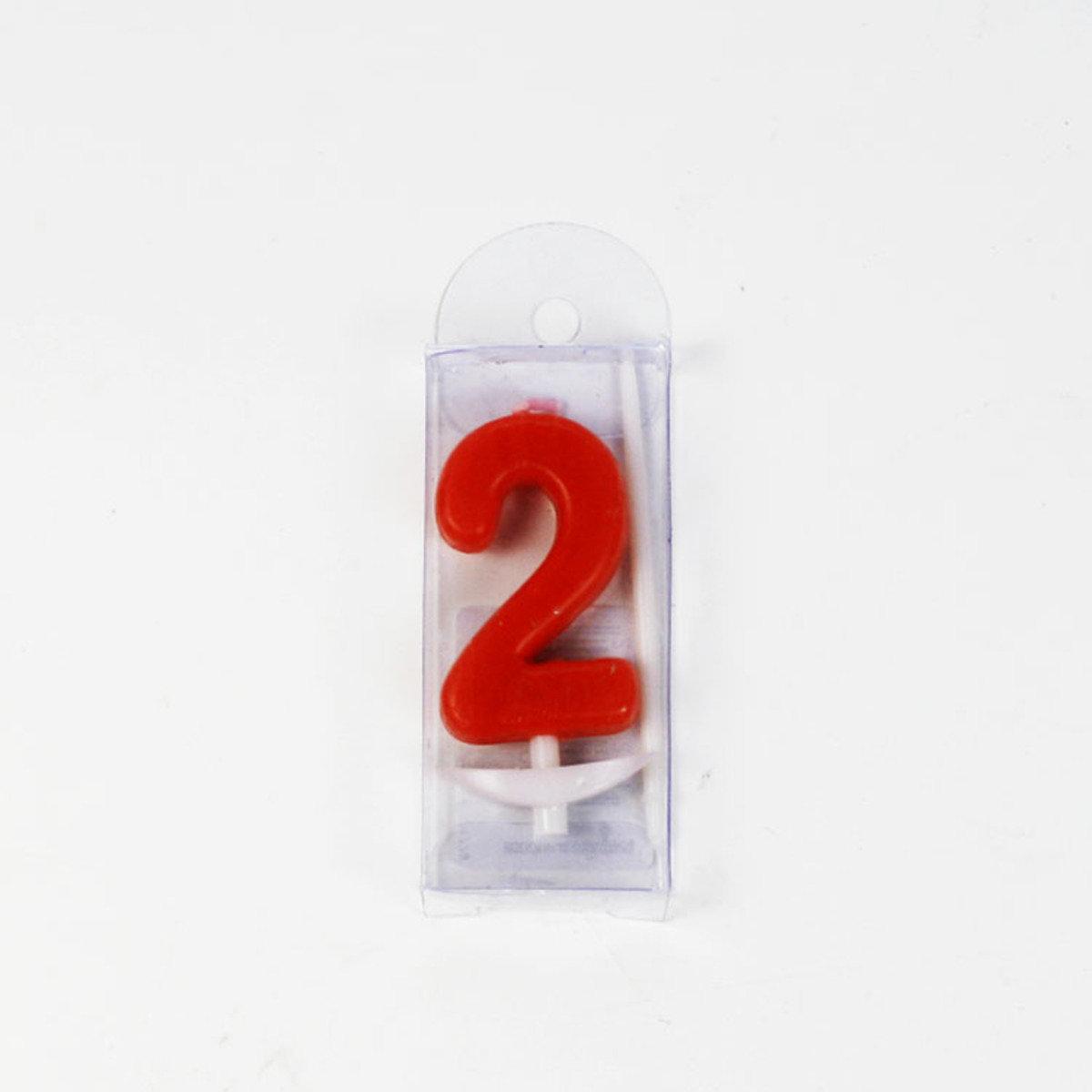 生日數字蠟燭 2