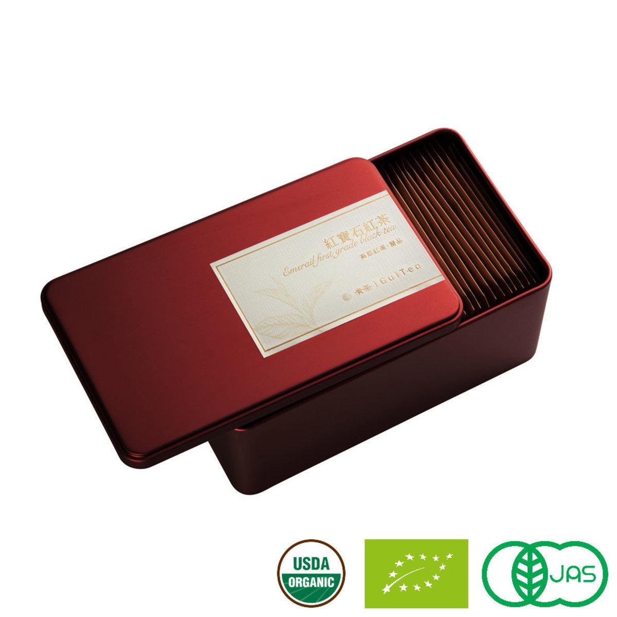 紅寶石.精品 高原有機原片紅茶