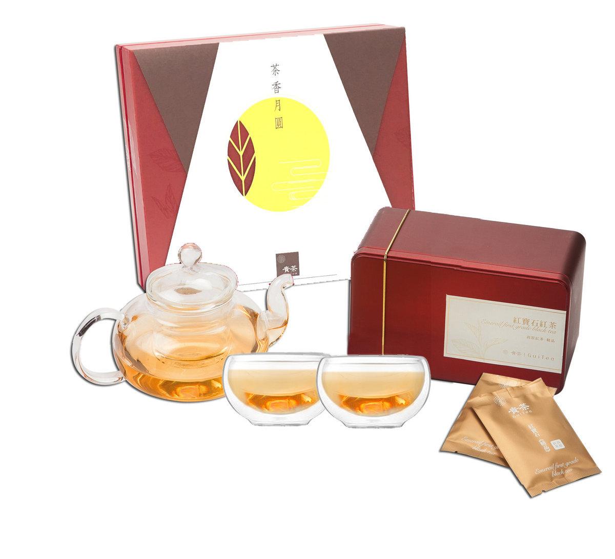 紅寶石紅茶.尊貴茶具禮盒