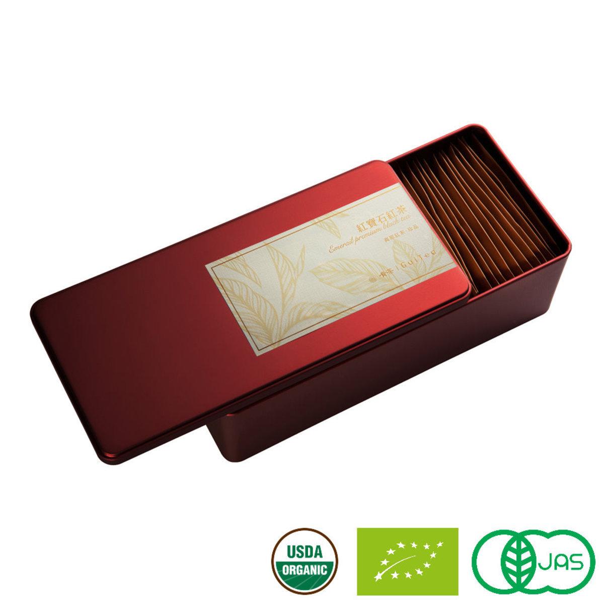 紅寶石.尊品 高原有機原片紅茶