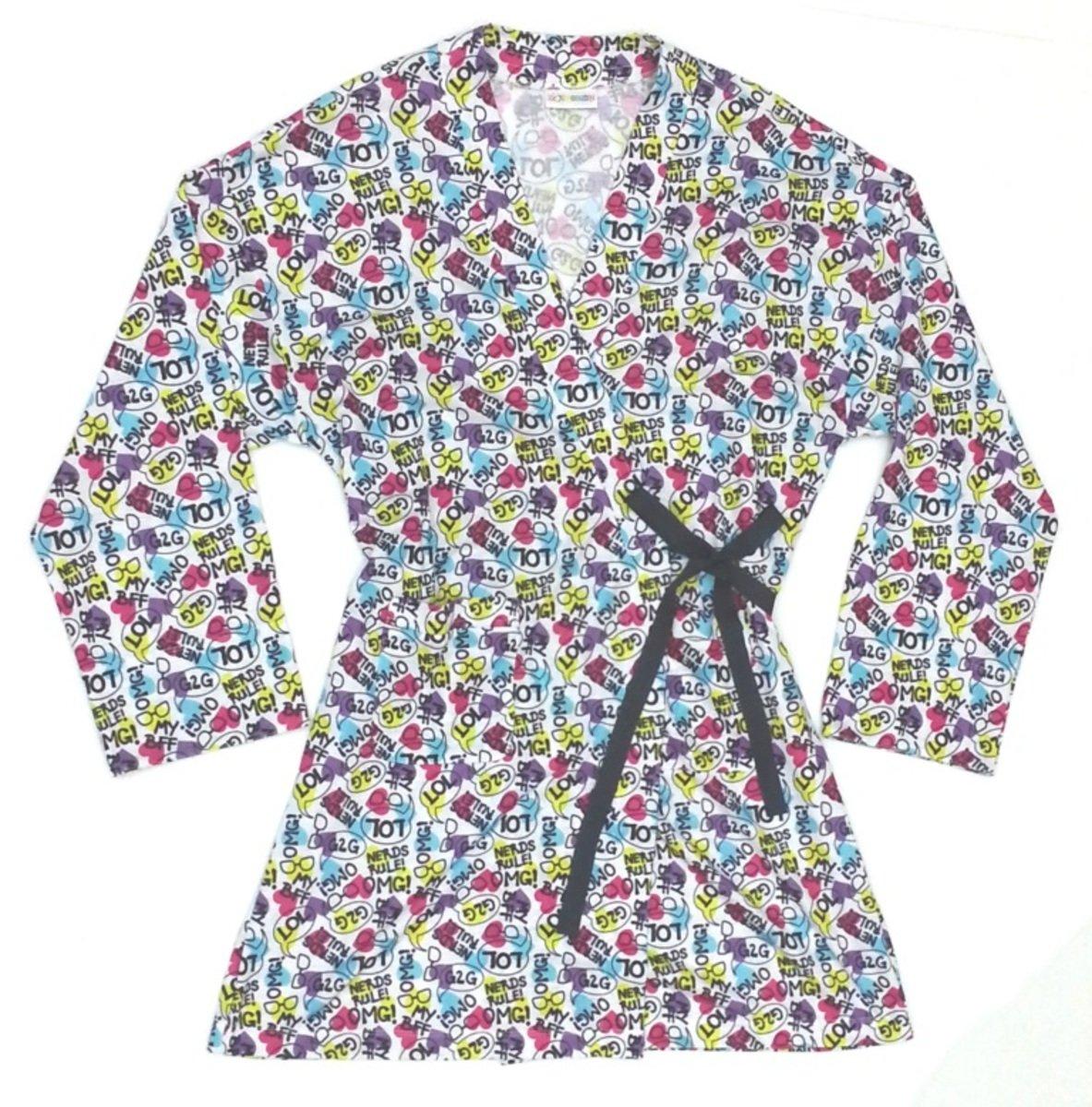針織布日式浴衣加拉鏈包裝袋