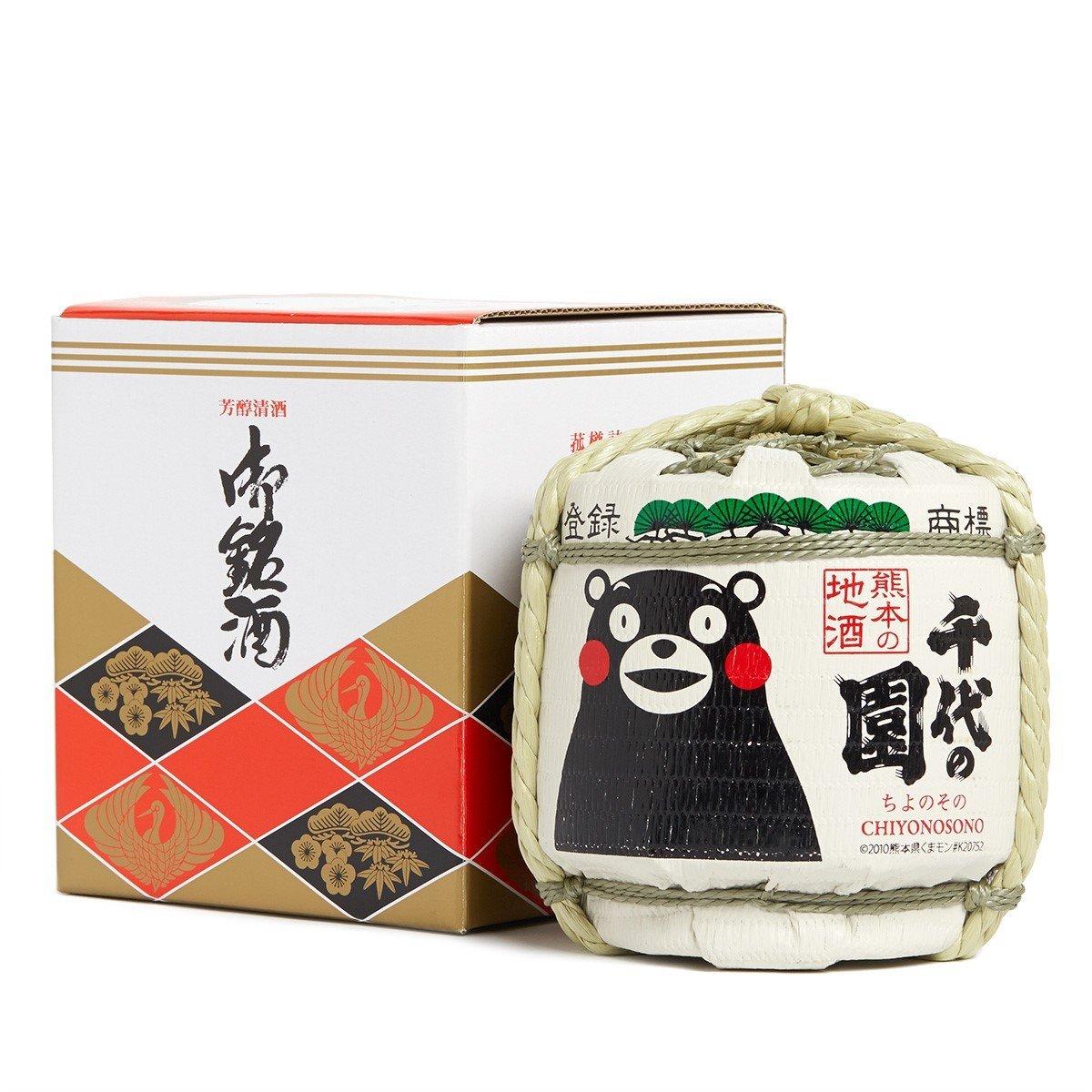 熊本熊 X 千代黑松菰樽 1800ml