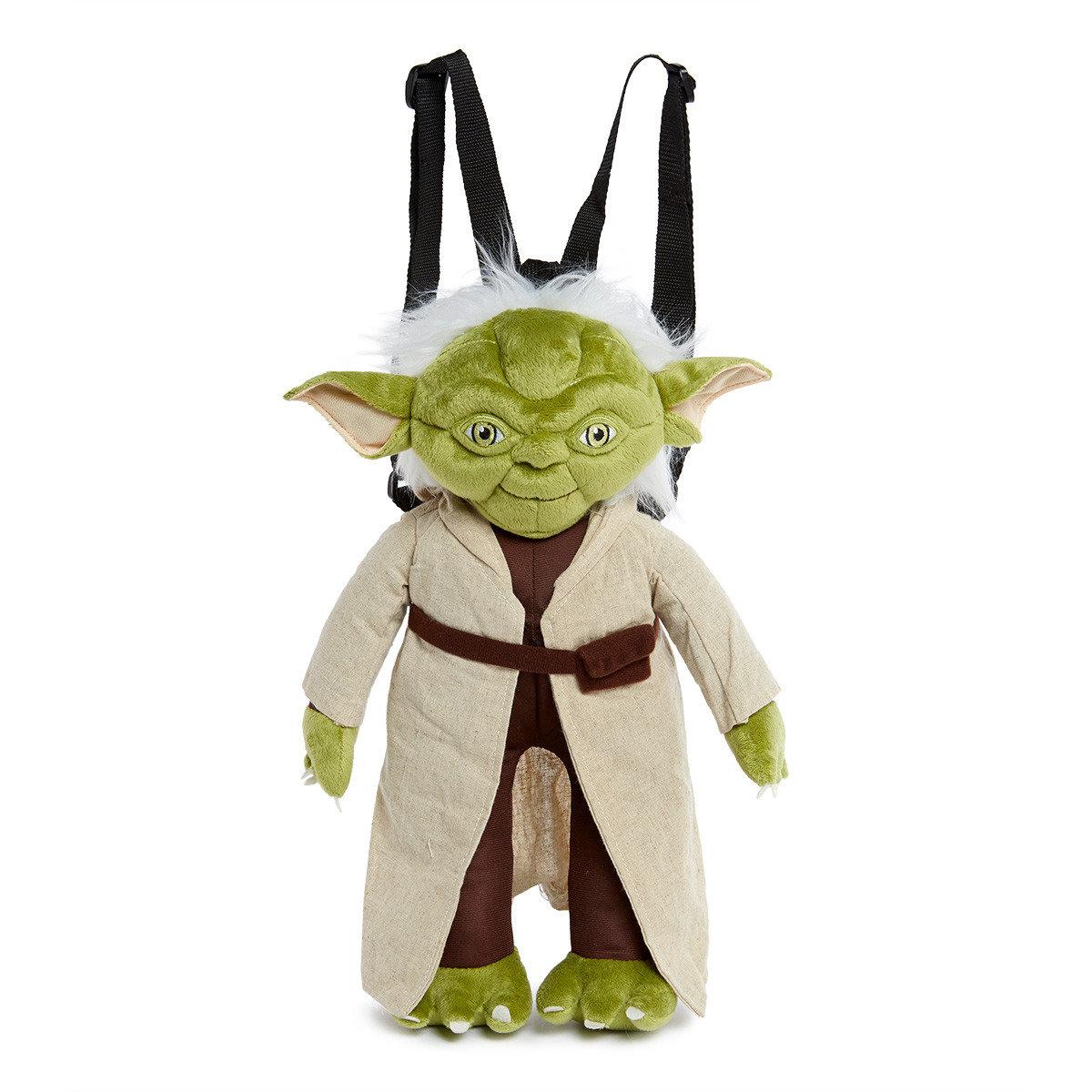 星球大戰 17 吋毛質背包(尤達 Yoda)
