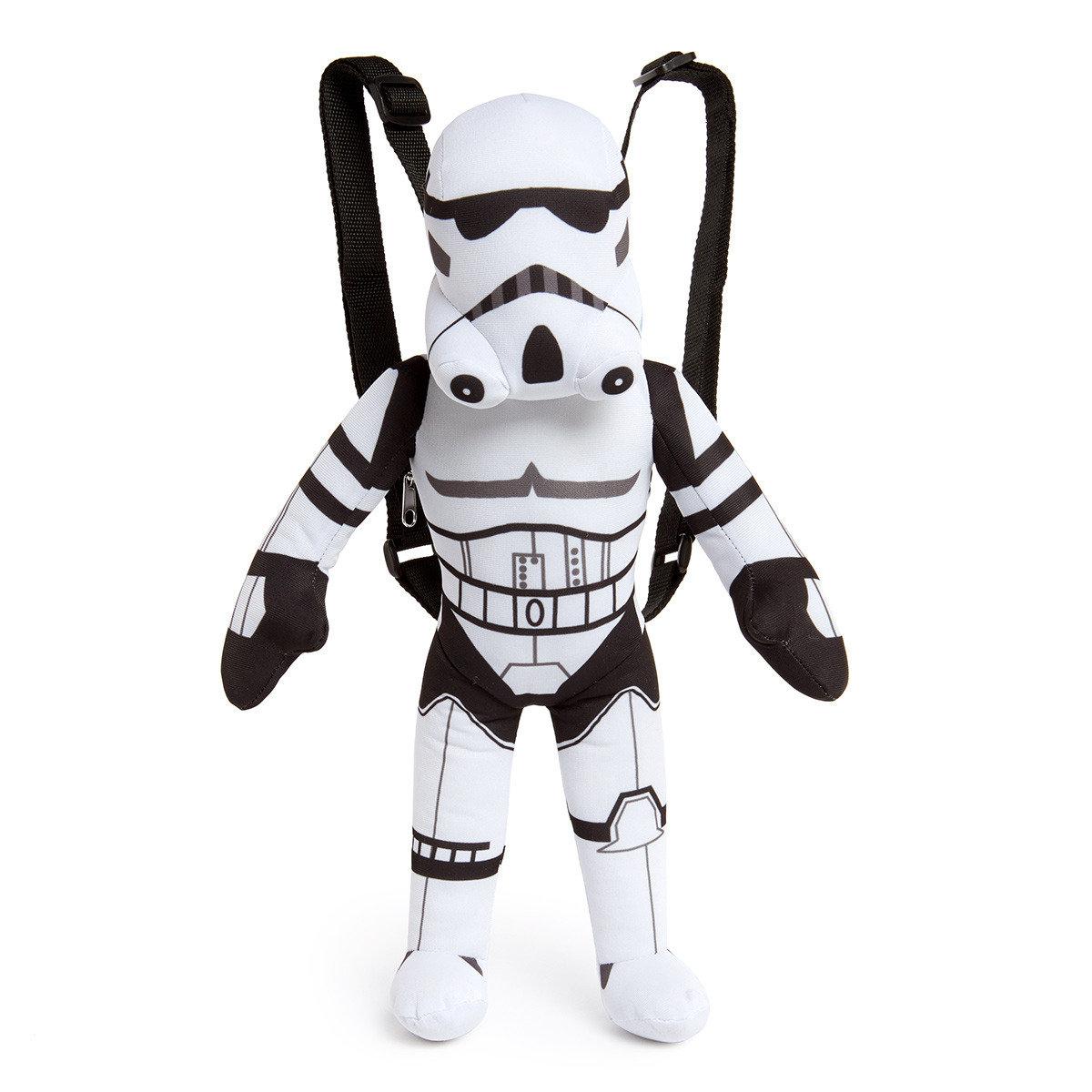 星球大戰 17 吋毛質背包(白兵 / 風暴兵 Stormtrooper)