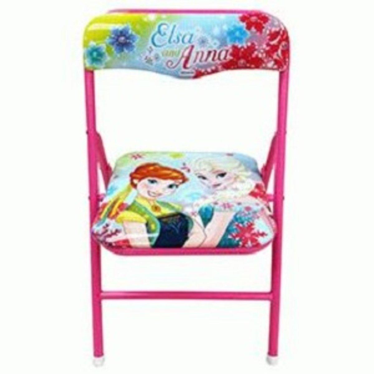 Frozen Fever深粉紅色摺椅