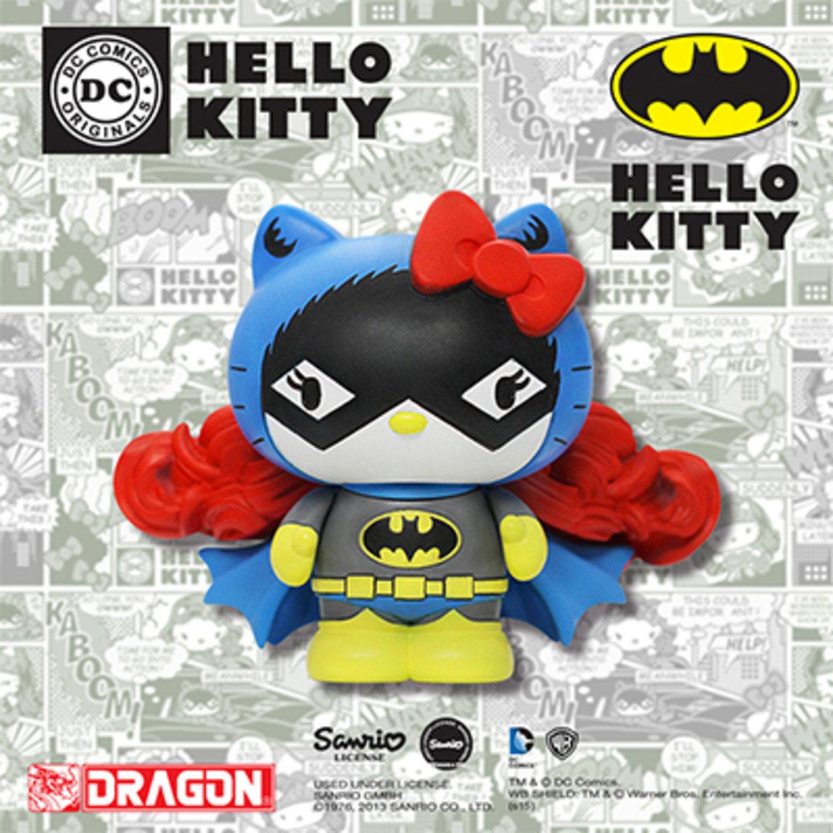 Hello Kitty x DC Comics系列 - 蝙蝠女