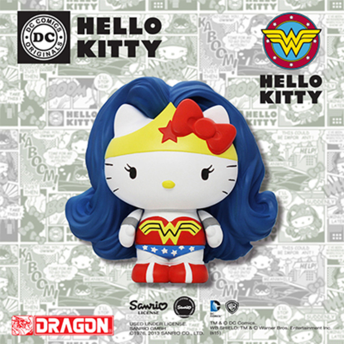 Hello Kitty x DC Comics系列 - 神奇女俠