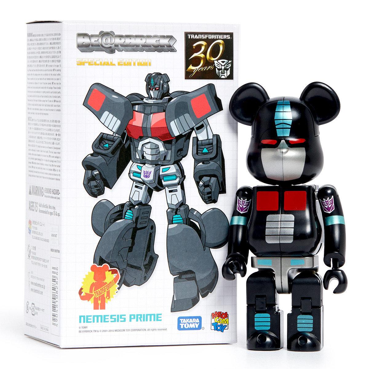 Be@rbrick x Transformers: NEMESIS PRIME