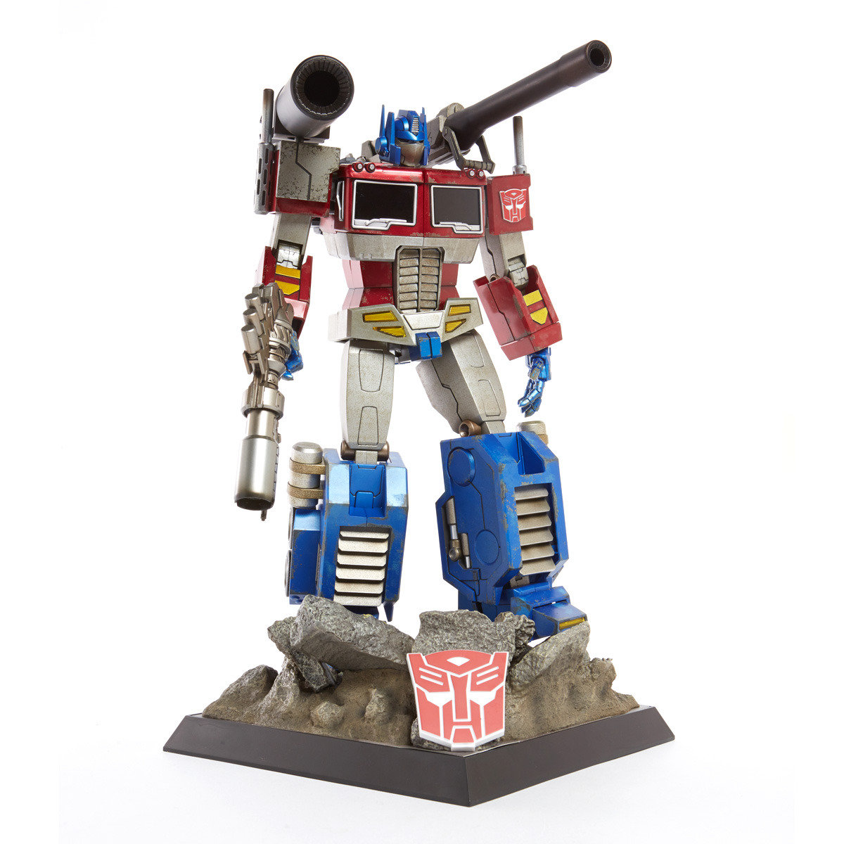 TF002 TRANSFORMERS OPTIMUS PRIME COLLECTIBLE FIGURE BY HOT TOYS (MEGATRON VERSION) ASIA EXCLUSIVE