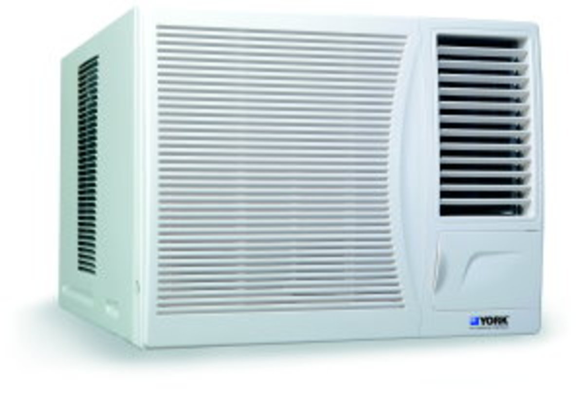 York 約克 1.5匹窗口式冷氣機 (送價值$380標準安裝) YC12G1